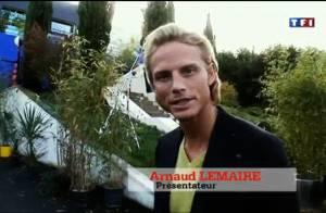 Regardez le bel Arnaud Lemaire vous faire visiter la sublime maison et la chambre noire de L'amour est aveugle !