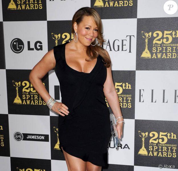 La diva Mariah Carey est une femme voluptueuse qui passe d'une taille à une autre sans se soucier du qu'en dira-t-on !