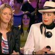 Geneviève de Fontenay et son fils, clash en direct sur le plateau du Grand Journal le 9 avril 2010 avec Sylvie Tellier