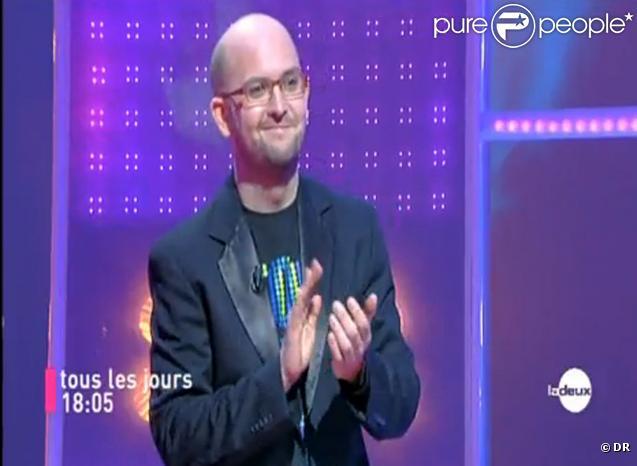 Christophe, champion depuis plus de 70 émissions, dans l'émission Tout le monde veut prendre sa place.