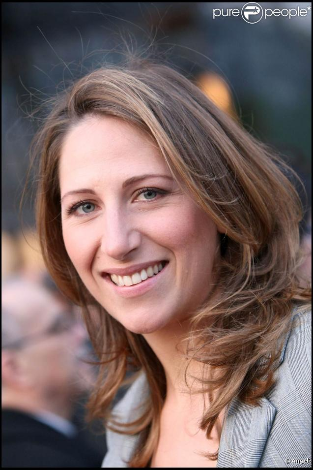 Maud Fontenoy, à l'occasion de l'avant-première des Aventures extraordinaires d'Adèle Blanc-Sec , à l'UGC Normandie, sur les Champs-Elysées, à Paris, le 12 avril 2010.