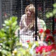 Kirstie Alley dans sa propriété de Hollywood (15 avril 2010)