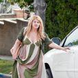 Kirstie Alley va voir une amie à Los Angeles (17 avril 2010)