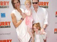 Brooke Shields : Elle est toute fière de présenter son nouveau film à son chéri et ses adorables filles !