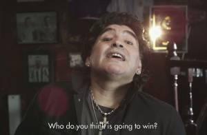 Zinedine Zidane et le roi Pelé : Regardez-les s'affronter devant Maradona !