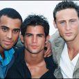 Filip Nikolic avec Adel et Franck