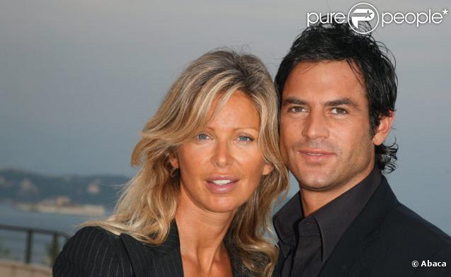Filip Nikolic et sa compagne Valérie Bourdin