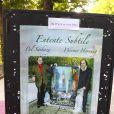 Exposition des tableaux de Pal Sarkozy et Werner Hornung, à l'Espace Pierre Cardin, le 24 avril 2010