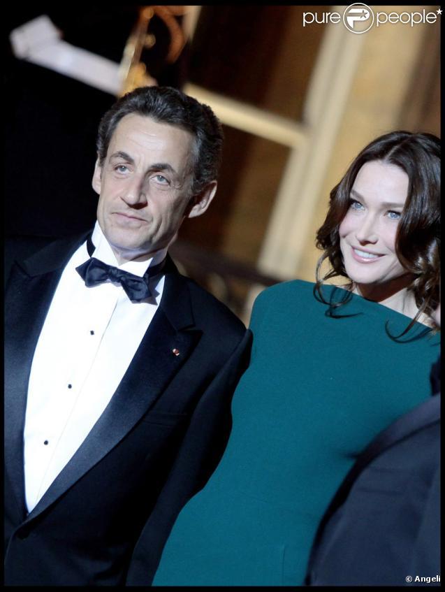 Carla Bruni et Nicolas Sarkozy