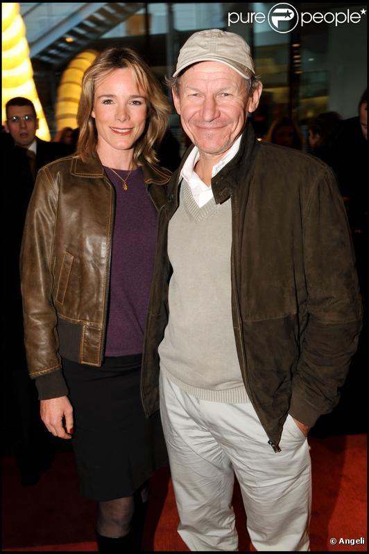 Géraldine Danon et son époux Philippe Poupon