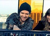 """Regardez Justin Timberlake et sa protégée Esmée Denters, des """"dealers d'amour"""" en altitude !"""