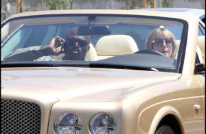 Heidi Klum et Seal : Au volant de leur bolide... c'est Madame qui prend les commandes !