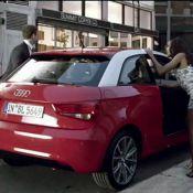 Regardez Justin Timberlake et la belle Dania Ramirez, traqués par des tueurs, se réfugier dans leur Audi A1 !