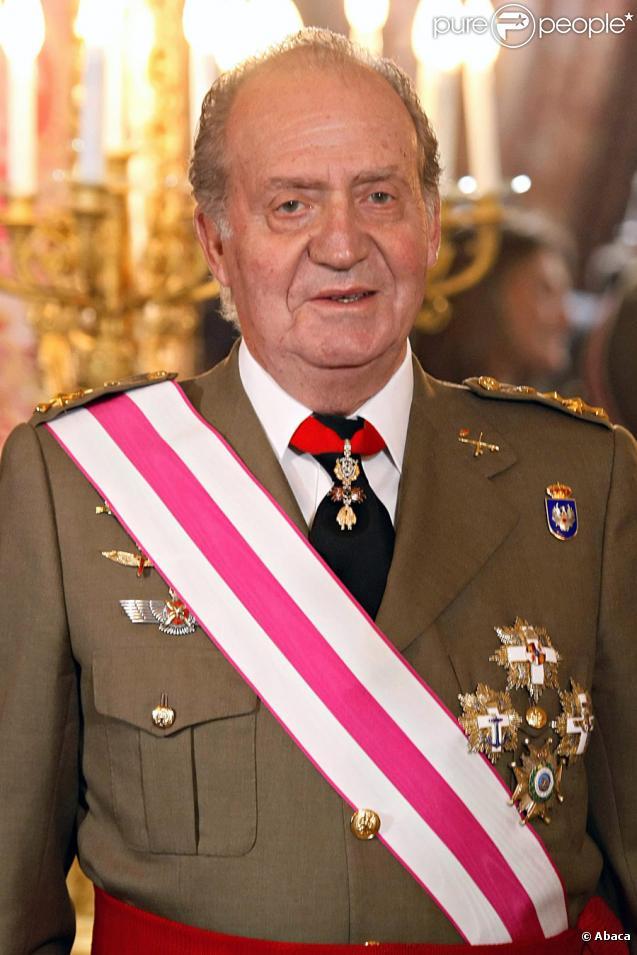 Le Roi Juan Carlos Ier d'Espagne