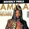 Le top model Beverly Peele en couverture