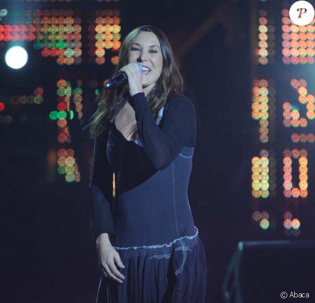 Zazie sur scène pour Haïti, concert de charité au zénith de Paris, le 24 janvier 2010 !
