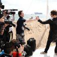 Liam Gallagher annonce la production d'un film sur les Beatles, à Cannes le 14 mai 2010 !