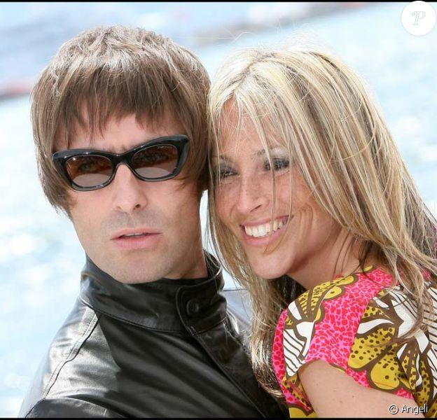 Liam Gallagher et sa femme Nicole Appleton, à Cannes, le 14 mai 2010 !