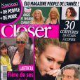 La couverture de Closer du 15 mai 2010