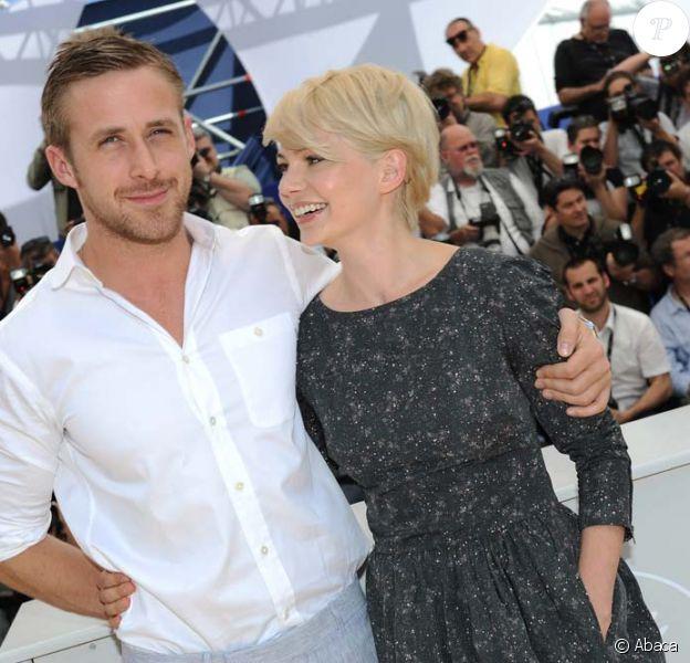 Michelle Williams et Ryan Gosling présentent Blue Valentine, à Cannes, le 18 mai 2010 !