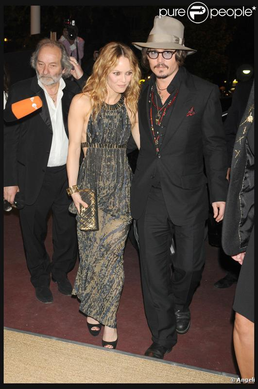 johnny depp and vanessa paradis. johnny depp y vanessa paradis.