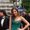 Razan Jammal lors de la présentation du biopic réalisé par Olivier Assayas, intitulé Carlos le 19 mai 2010 durant le 63e festival de Cannes