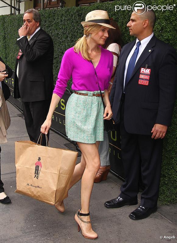 Diane Kruger à New York lors d'une soirée le 17 mai 2010