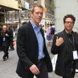 Hugh Laurie à New York lors d'une soirée le 17 mai 2010