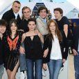 L'équipe du film lors du photocall Simon Werner a disparu durant le festival de Cannes le 20 mai 2010