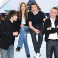 Laurent Delbecque, Ana Girardot, Arthur Mazet et Jules Pelissier lors du photocall du film Simon Werner a disparu durant le festival de Cannes le 20 mai 2010