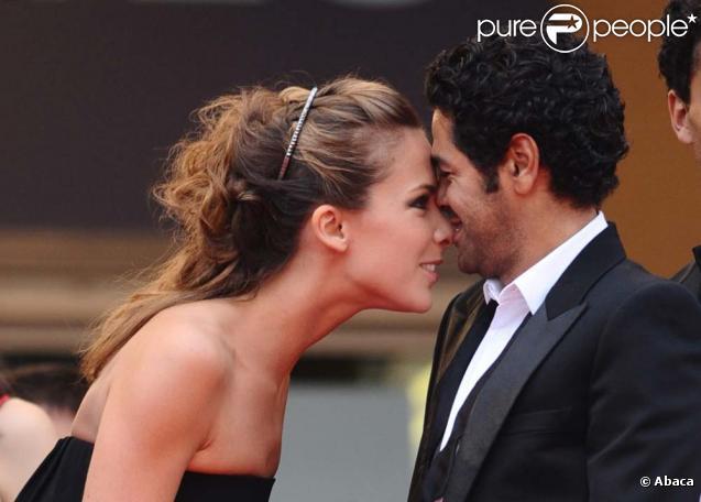 Festival de Cannes - Montée des marches du film  Hors-la-loi  de Rachid Bouchareb, le 21 mai 2010 : Melissa Theuriau et Jamel Debbouze !