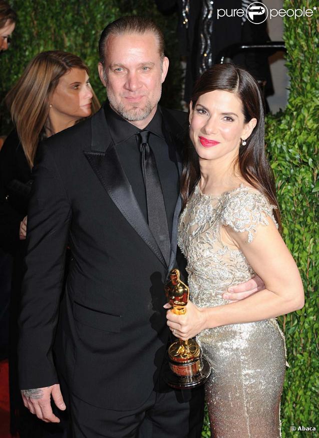 Sandra Bullock et Jesse James, cérémonie des Oscars, à Los Angeles, le 3 mars 2010 !