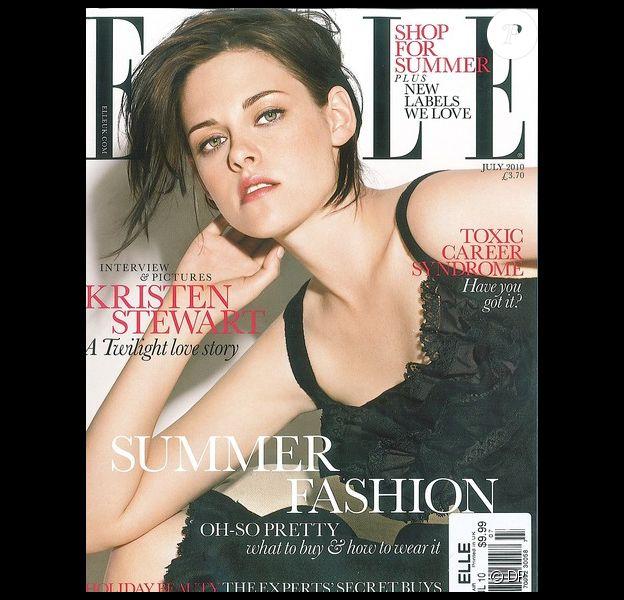 Kristen Stewart en couverture de ELLE UK