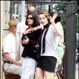 Kate Winslet, très concentrée sur le tournage de Mildred Pierce, à New York. 28/05/2010