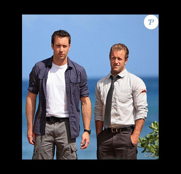 Alex O'Loughlin et Scott Caan dans le remake de Hawaï Police d'Etat.