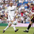 Zinedine Zidane, Jean-Pierre Papin et Christian Karembeu participaient, dimanche 30 mai, au Corazon Classic, un match de charité au stade Barnabeu de Madrid.