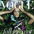 Eva Herzigova en couverture du Vogue Italie du mois de juin 2010
