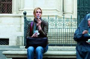 Regardez la belle Julia Roberts manger, prier et faire l'amour... aux côtés de Javier Bardem et James Franco !