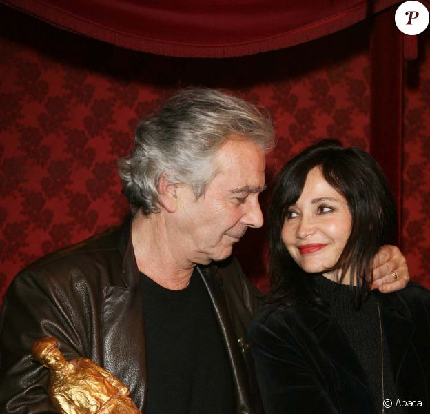 Pierre Arditi et Evelyne Bouix, décembre 2008