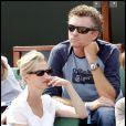 Denis Brogniart au tournoi de Roland-Garros, le 6 juin 2010.