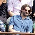 Frédéric Beigbeder à Roland-Garros. 6/06/2010