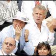 PPDA et Guillaume Durand à Roland-Garros