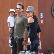 David Charvet et Brooke Burke : Des parents formidables et de véritables... gravures de mode !