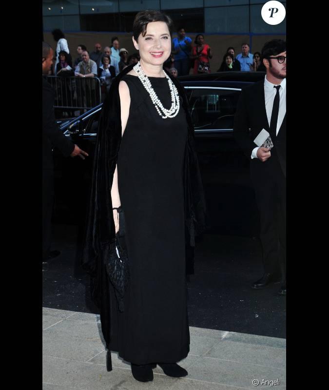 Isabella Rossellini lors de la soirée des Fashion Awards ...
