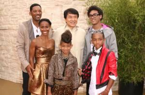 Will Smith et sa femme Jada tellement fiers de leurs fils et de leur fille... au crâne rasé !