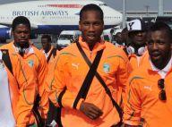 Didier Drogba et les Ivoiriens sont arrivés en Afrique du Sud... fins prêts à en découdre !