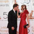 Michael Weatherly et son épouse Bojana Jankovic au 50ème Festival de télévision de Monte-Carlo (10 juin 2010 à Monte-Carlo)