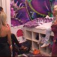 """Après le prime, Cindy choisit de crever l'abcès avec ses deux """"copines"""" violettes Alycia et Marie"""