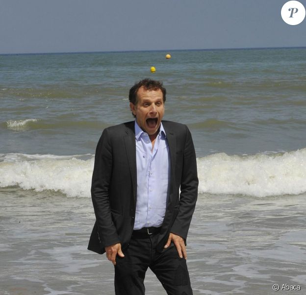 Charles Berling à la 24eme édition du festival du film romantique. 11 juin 2010