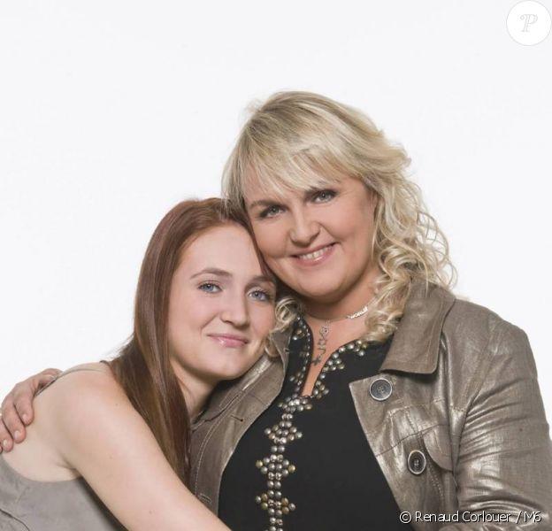Valérie Damidot et sa fille Roxanne, pour Victoire Bonnot